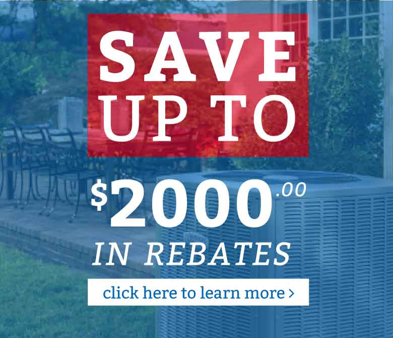 Save up to $700 with local and federal rebates!
