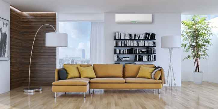 Keep the individual rooms in your home as cool or warm as you'd like with a ductless system's precise zoning technology.